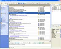 date and time software. Main view of date and time software.