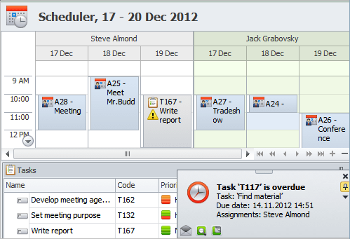 Monitor Schedule Compliance on the Scheduler