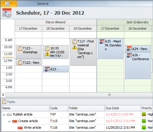 Task Tracking Software: Scheduler for Event Tracking