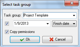 Templates for Easier Task List Planning